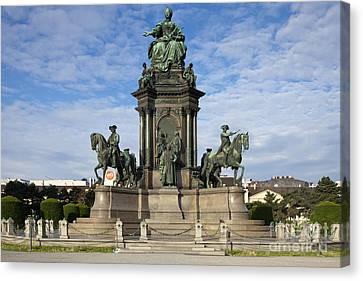 Maria Theresia Statue Canvas Print