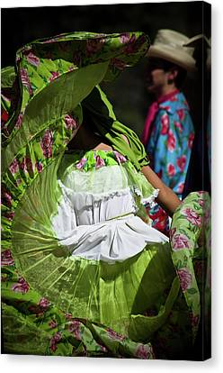Mariachi Dancer 3 Canvas Print by Swift Family