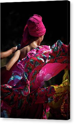 Mariachi Dancer 4 Canvas Print by Swift Family