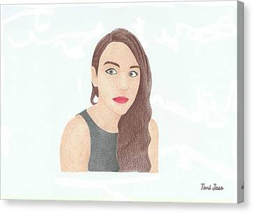 Mariand Castrejon - Yuya Canvas Print