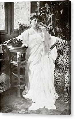 Marie Of Romania  Marie Alexandra Canvas Print