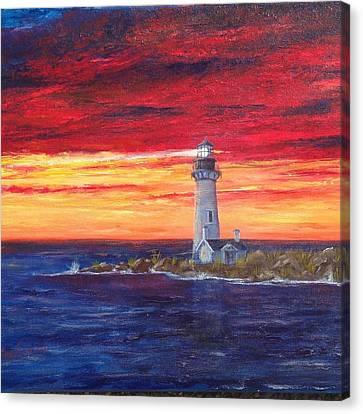 Marien's View Canvas Print