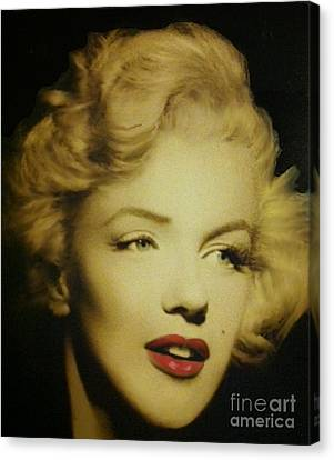 Canvas Print featuring the photograph Marilyn by Elizabeth Coats