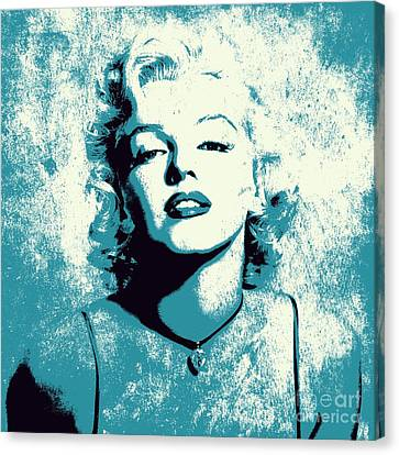Marilyn Monroe - 201 Canvas Print by Variance Collections