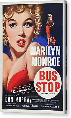 Marilyn Monroe - Bus Stop Canvas Print