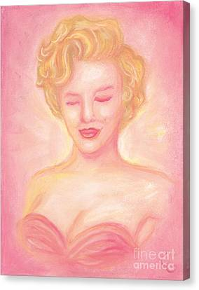 Marilyn Monroe Canvas Print by Cassandra Geernaert