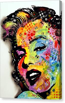 Marilyn Monroe II Canvas Print by Dean Russo