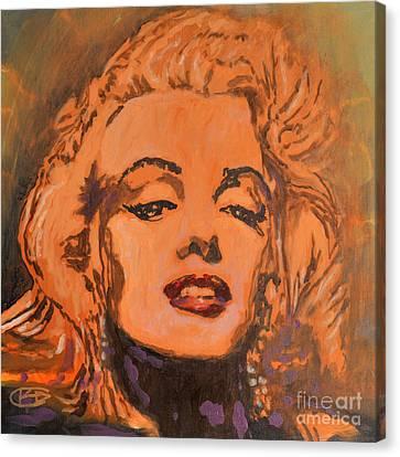 Marilyn Monroe Canvas Print by Kip Decker