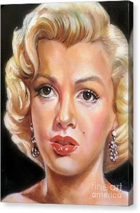 Marilyn Monroe Canvas Print by Blackwater Studio