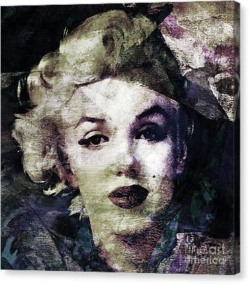 Marilyn Monroe  Canvas Print by Stacey Chiew