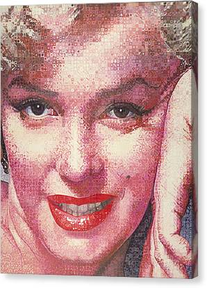 Marilyn Canvas Print by Randy Ford