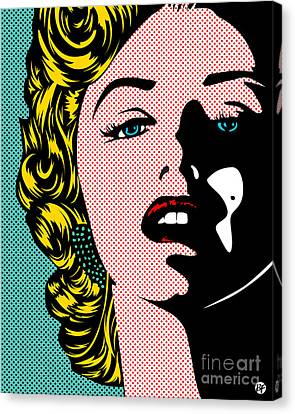 Marilyn02-1 Canvas Print