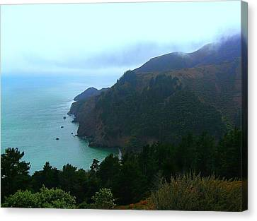 Marin Headlands In San Francisco California Canvas Print by Jen White