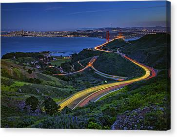 Marin Headlands Canvas Print by Rick Berk