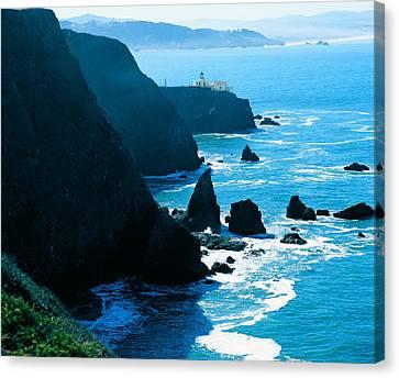 Marin Headlands San Francisco Bay Canvas Print