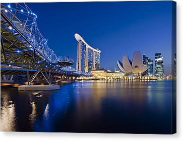 Marina Bay Sands Canvas Print by Ng Hock How