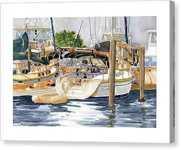 Marina Matrix Canvas Print