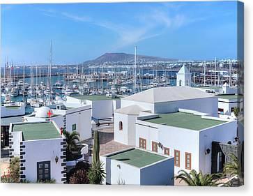 Lanzarote Canvas Print - Marina Rubicon - Lanzarote by Joana Kruse