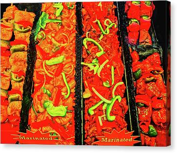 Marinated 3 Canvas Print by Bruce Iorio
