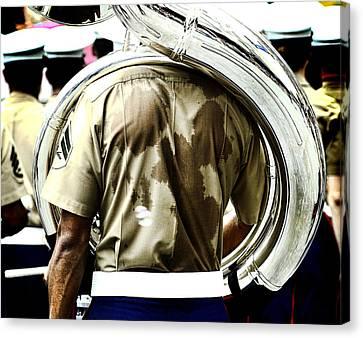 Marine Band Canvas Print by Kevin Duke
