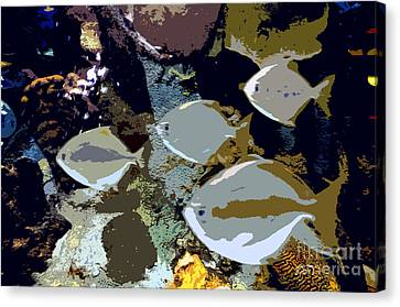 Marine Life Canvas Print