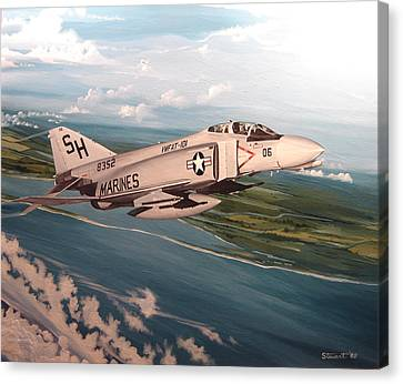 Marine Phantom Canvas Print by Marc Stewart