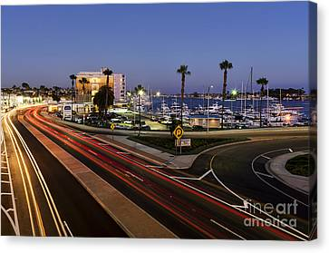Pch Canvas Print - Mariner's Mile by Eddie Yerkish