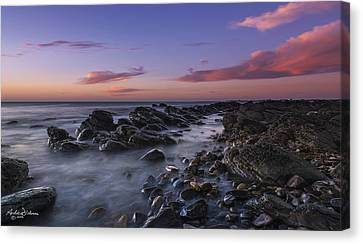 Marino Rocks Canvas Print
