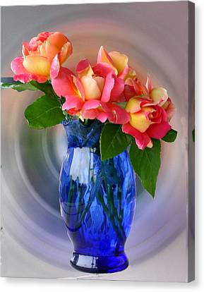 Marions Roses Canvas Print