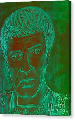 Mark Antony In Copper Green Canvas Print