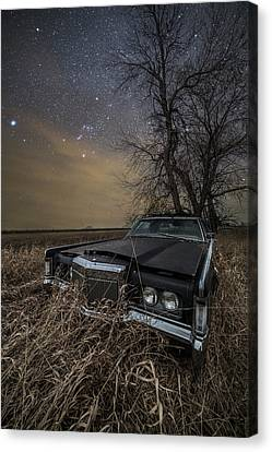 Canvas Print featuring the photograph Mark IIi by Aaron J Groen