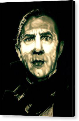 Mark Of The Vampire Canvas Print by Fred Larucci