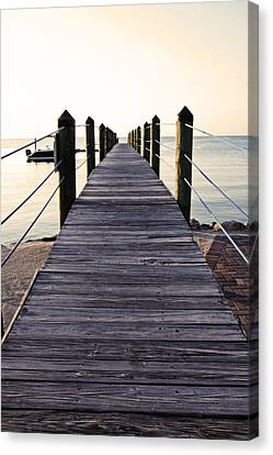 Marker 88 Pier Canvas Print by Ty Helbach