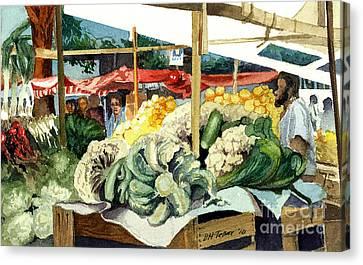 Market Day At Ipanema Canvas Print
