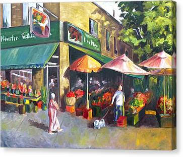 Market Day Canvas Print by Diane Daigle