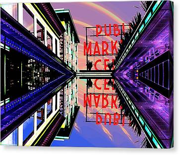 Market Entrance Canvas Print