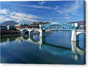 Market Street Bridge  Canvas Print by Tom and Pat Cory