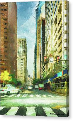 Market Street Canvas Print by Marvin Spates