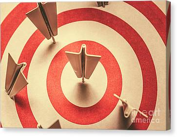 Marketing Your Target Market Canvas Print