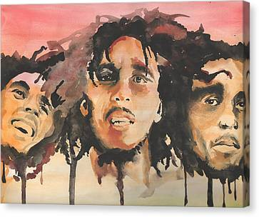 Marley Trio Canvas Print by Matt Burke