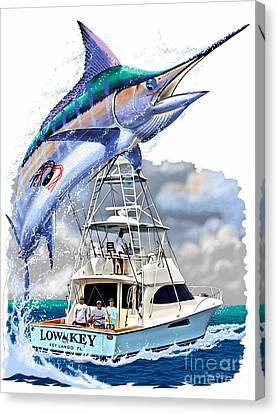 Marlin Commission  Canvas Print by Carey Chen