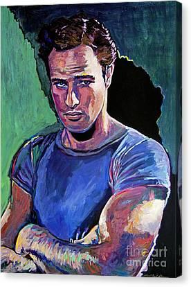Marlon Brando Canvas Print by David Lloyd Glover