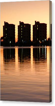 Marmelade Skies At Condo Heaven Canvas Print