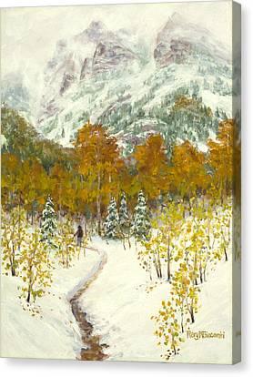 Maroon Bells-snowmass Wilderness Trek Canvas Print