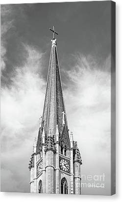 Marquette University - Church Of The Gesu Canvas Print