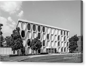 Marquette University Lalumiere Hall Canvas Print by University Icons