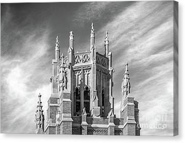 Marquette University Marquette Hall Canvas Print