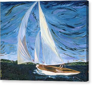 Marraige Canvas Print by Impressionism Modern and Contemporary Art  By Gregory A Page
