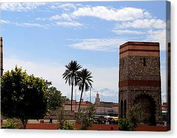 Canvas Print featuring the photograph Marrakech 2 by Andrew Fare