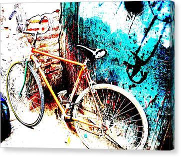 Marrakech Funky Bike  Canvas Print by Funkpix Photo Hunter